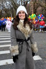 Idina Menzel Attends  2010 Macy's Thanksgiving Day Parade