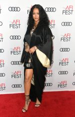 Rihanna  In  Vintage John Galliano  @ The 'Queen & Silm' Premiere at AFI FEST 2019