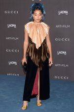 Amandla Stenberg  In Gucci @   2019 LACMA Art and Film Gala