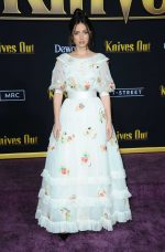 "Ana de Armas In Chanel Haute Couture @  ""Knives Out"" LA Premiere"