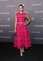 Camilla Belle  In Monique Lhuillier @  2019 Baby2Baby Gala