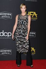 Charlize Theron In Alexander McQueen @   2019 Hollywood Film Awards In LA