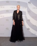 Charlize Theron In Christian Dior @  2019 Guggenheim International Gala In NY