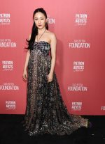 Constance Wu  In Etro @  2019 Patron Of The Artists Awards