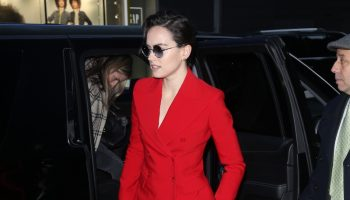 daisy-ridley-in-red-michael-kors-suit-good-morning-america-in-new-york-city