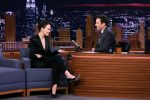 Daisy Ridley In August Getty Suit @  The Tonight Show With Jimmy Fallon