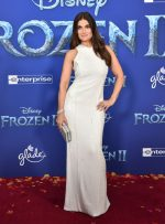 "Idina Menzel  In  Galvan  @ ""Frozen 2""  LA Premiere"