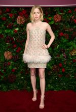 Ellie Bamber In Chanel @  Evening Standard Theatre Awards 2019 in London