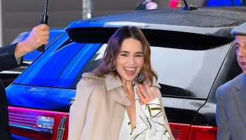 emilia-clarke-in-gabriela-hearst-victoria-beckham-arriving-at-good-morning-america