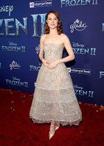 "Evan Rachel Wood  In Oscar De La Renta @  ""Frozen 2""  LA Premiere"
