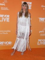 Heidi Klum In  Julien Macdonald @ The 2019 TrevorLive Los Angeles Gala