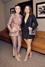 Elsie Fisher Rocks Suit @ InStyle & Kate Spade New York Dinner