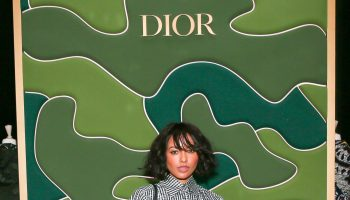 kat-graham-rocks-shirt-dress-dior-holiday-takeover-bergdorf-goodman-in-new-york