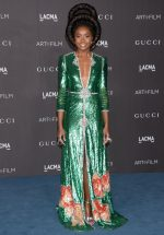 KiKi Layne  In Gucci @  2019 LACMA Art and Film Gala in Los Angeles