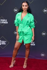 Maya Jama In  Jacquemus  @ 2019 People's Choice Awards