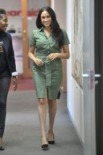 Meghan Markle In Cargo Green Dress @ ActionAid Discussion – University of Johannesburg
