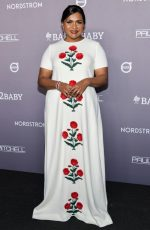 Mindy Kaling In  Oscar De La Renta  @ 2019 Baby2Baby Gala