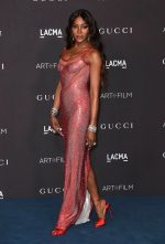 Naomi Campbell  In Gucci @ 2019 LACMA Art and Film Gala