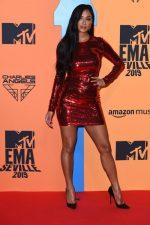 Nicole Scherzinger    In Tom Ford @ 2019 MTV Europe Music Awards