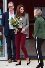 Catherine, Duchess of Cambridge  @ The Shout's Crisis Volunteer Event I London