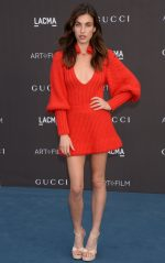 Rainey Qualley  In Gucci @ 2019 LACMA Art And Film Gala In Los Angeles