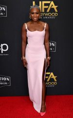 Cynthia Erivo In Versace @ 2019 Hollywood Film Awards In LA