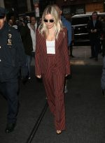 Sienna Miller In  Marc Jacobs  Arriving The Today Show in New York