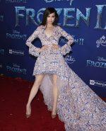 """Sofia Carson In Giambattista Valli   @ """"Frozen 2"""" LA Premiere"""