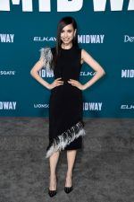 "Sofia Carson  In Christopher Kane @  ""Midway"" Premiere in Westwood"