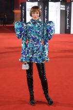 Julia Hobbs  In Blue Floral  2019  The British  Fashion Awards