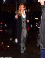 "Jennifer Lopez In Dolce & Gabbana Suit @ ""Hustlers"" New York  Screening"