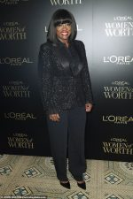 Viola Davis  In Alberta Ferretti Suit @ L'Oreal Paris Women Of Worth Awards 2019