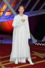 Tilda Swinton In  Loewe  Gown @ 2019 Marrakech Film Festival
