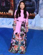 Awkwafina In Valentino @ The 'Jumanji: The Next Level' LA Premiere