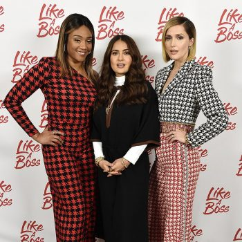 tiffany-haddish-salma-hayek-rose-byrne-like-a-boss-photo-call