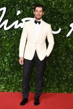 David Gandy Attends  2019 British  Fashion Awards