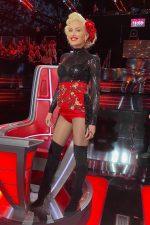 Gwen Stefani  In Dolce & Gabbana Shorts  @ The Voice Results Show
