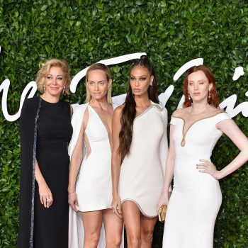 nadja-swarovski-amber-valletta-joan-smalls-karen-elson-2019-british-fashion-council-awards