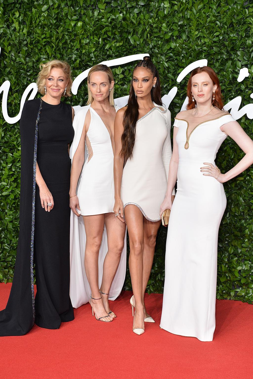 nadja-swarovski-amber-valletta-joan-smalls-karen-elson-2019-british-fashion-council-awards