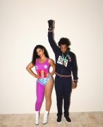 Beyonce & JAY-Z  As Olympians Flo-Jo And Tommie Smith