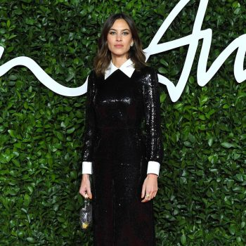 alexa-chung-wearing-alexachung-2019-british-fashion-council-awards