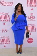 Niecy Nash In Blue Dress  @ 2019 Hollywood Reporter's Women In Entertainment Breakfast Gala
