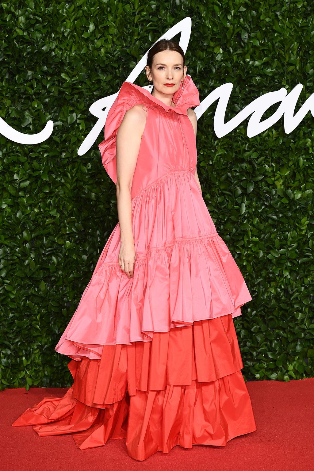 roksanda-ilincic-rock-color-block-dress-2019-british-the-fashion-awards