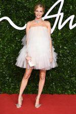 Poppy Delevingne In Oscar De La Renta  @ 2019 British Fashion Council Awards