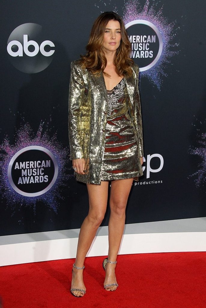 cobie smulders in dundas   2019 american music awards