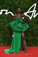 Adut Akech In Valentino  @ 2019 British Fashion Council Awards In London