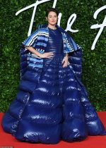 Shailene Woodley In Moncler 1 Pierpaolo Piccioli  @ 2019 British  The Fashion Awards