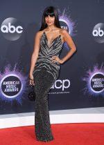 Jameela Jamil In Pamella Roland  @ 2019 American Music Awards