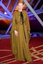 Tilda Swinton In Loewe @  2019 Marrakech International Film Festival