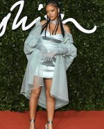 Rihanna In Fenty @  2019 British Fashion Council Awards In London